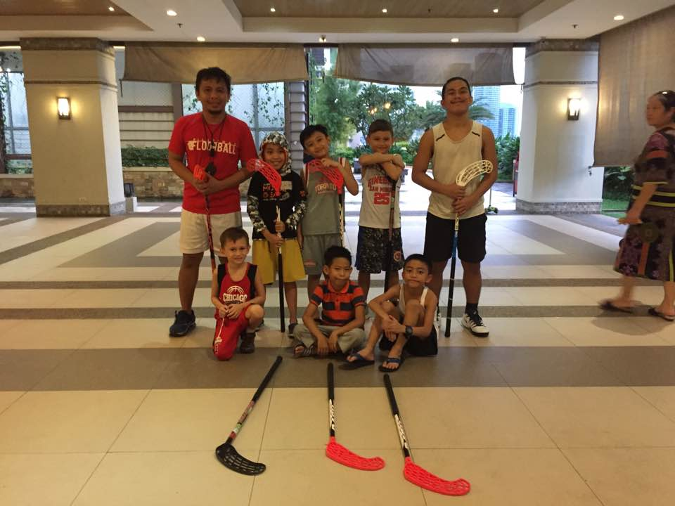 3o-BPO floorball team